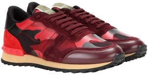 Valentino Chanel Sneakers Chanel Trainers Chanel Chanel Trainer Chanel 40 Red and Black Athletic