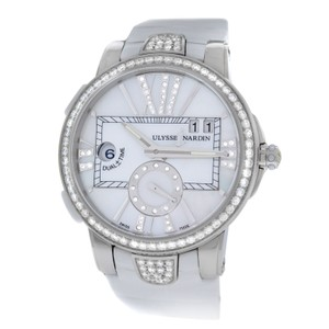 Ulysse Nardin New Ladies Ulysse Nardin Executive Dual Time 243-10B-3C/391 Diamond
