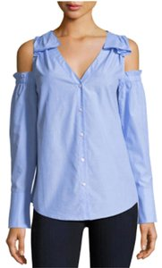 Club Monaco Offtheshoulder Springtops Top French Blue