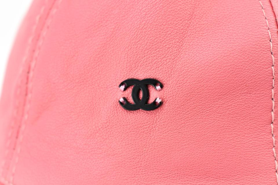 79eb3725 Chanel Pink Leather &