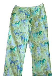 Lilly Pulitzer Straight Pants Green