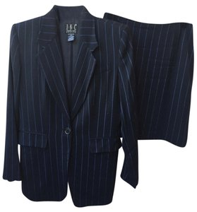 INC International Concepts INC Navy Petite Suit