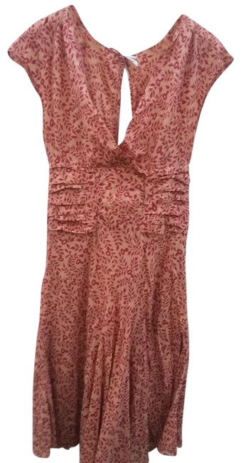 Item - Red Mid-length Casual Maxi Dress Size 4 (S)