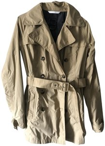 The North Face Trench Raincoat Beige Tan Jacket