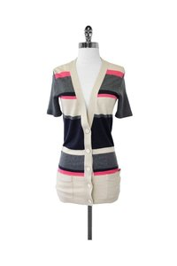 Theory Multicolor Striped Cardigan