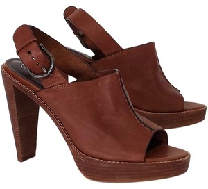 Cole Haan Leather Slingback brown Mules