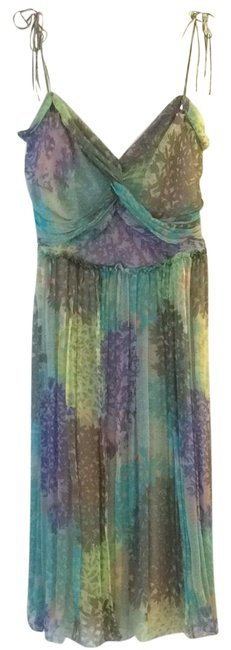 Preload https://img-static.tradesy.com/item/23173222/alessandro-dell-acqua-turquoise-purple-brown-and-chartreuse-mid-length-cocktail-dress-size-4-s-0-1-650-650.jpg