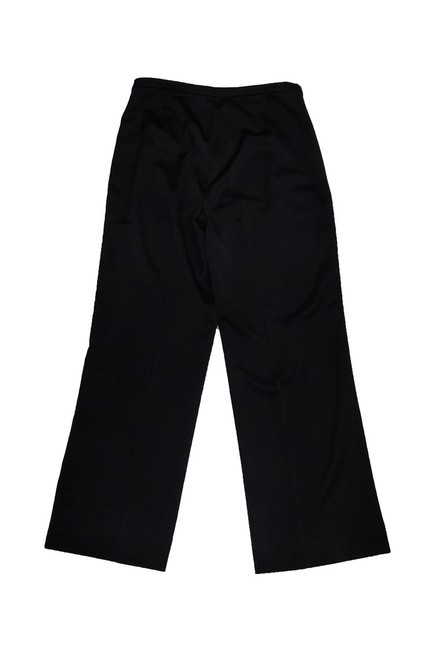 St. John Satin Straight Pants Black