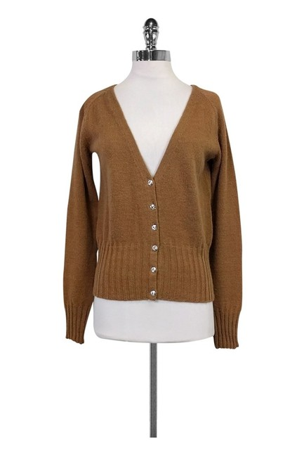 Item - Tan Cardigan Size 12 (L)