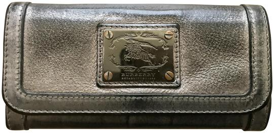 Preload https://item1.tradesy.com/images/burberry-pewter-gray-and-black-wallet-23174120-0-1.jpg?width=440&height=440