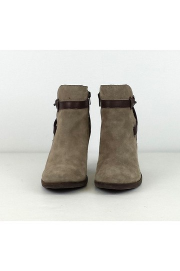 Dolce Vita Taupe Brown W/ Straps Boots