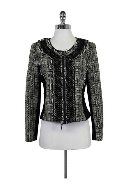 Preload https://item1.tradesy.com/images/milly-black-blazer-size-6-s-23174160-0-0.jpg?width=400&height=650