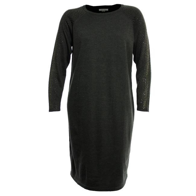 Preload https://item4.tradesy.com/images/calvin-klein-gray-1x-long-studded-sleeve-sweater-mid-length-workoffice-dress-size-16-xl-plus-0x-23174163-0-0.jpg?width=400&height=650