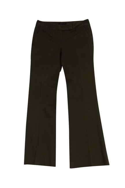 Tory Burch Olive Flare Pants green