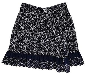 Marc by Marc Jacobs Navy Tan Skirt