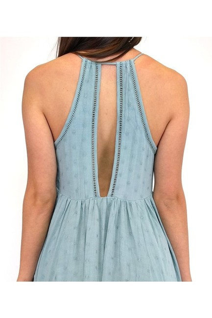 Everly short dress green Kissed With Swiss Dotted Sage on Tradesy