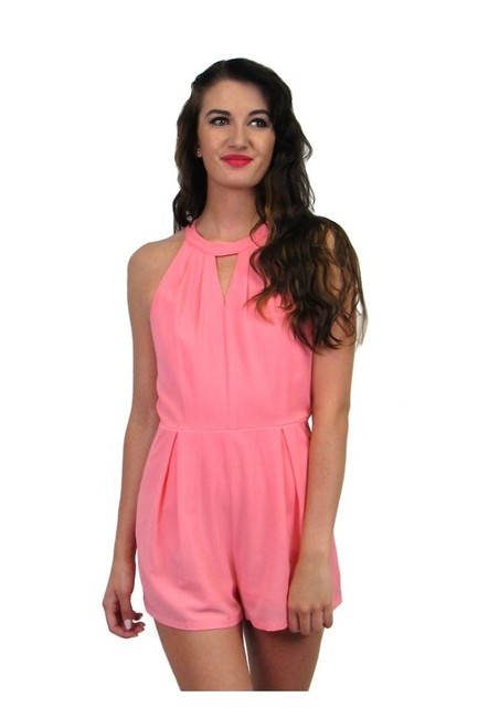 Preload https://img-static.tradesy.com/item/23174219/pink-romperjumpsuit-size-4-s-0-0-650-650.jpg