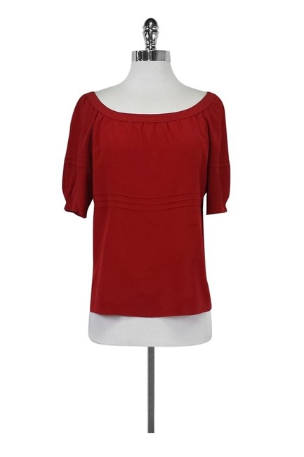 Item - Red Blouse Size 8 (M)