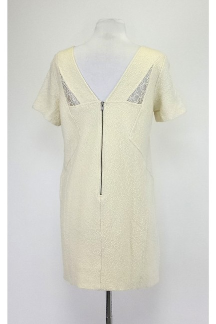 Marc by Marc Jacobs short dress Ivory Short Sleeve W/ Lace on Tradesy