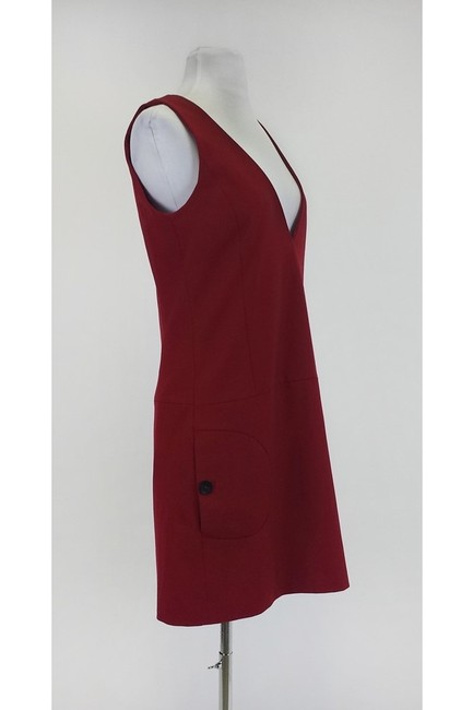Comptoir des Cotonniers short dress red W/ Side Pockets on Tradesy