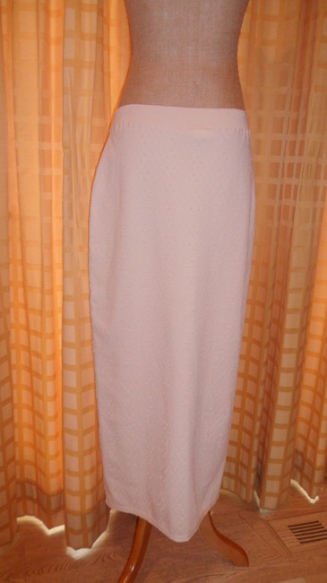 Chanel Maxi Skirt Off white