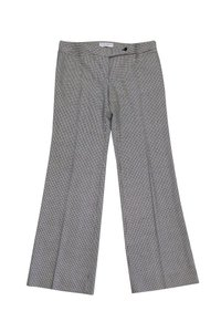 Dolce&Gabbana Houndstooth Straight Pants black