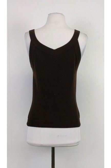Giorgio Armani Cashmere Top brown