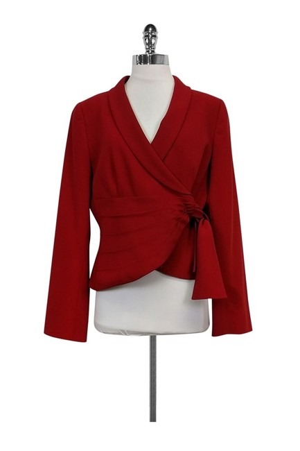 Preload https://img-static.tradesy.com/item/23174345/armani-collezioni-red-blazer-size-12-l-0-0-650-650.jpg