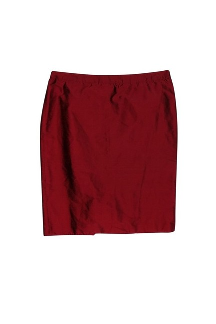 Preload https://img-static.tradesy.com/item/23174349/armani-collezioni-red-knee-length-skirt-size-12-l-0-0-650-650.jpg