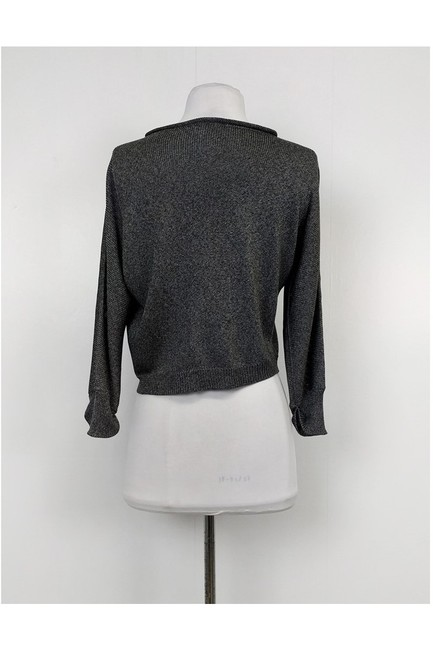 Max Mara Grey Knit Cardigan