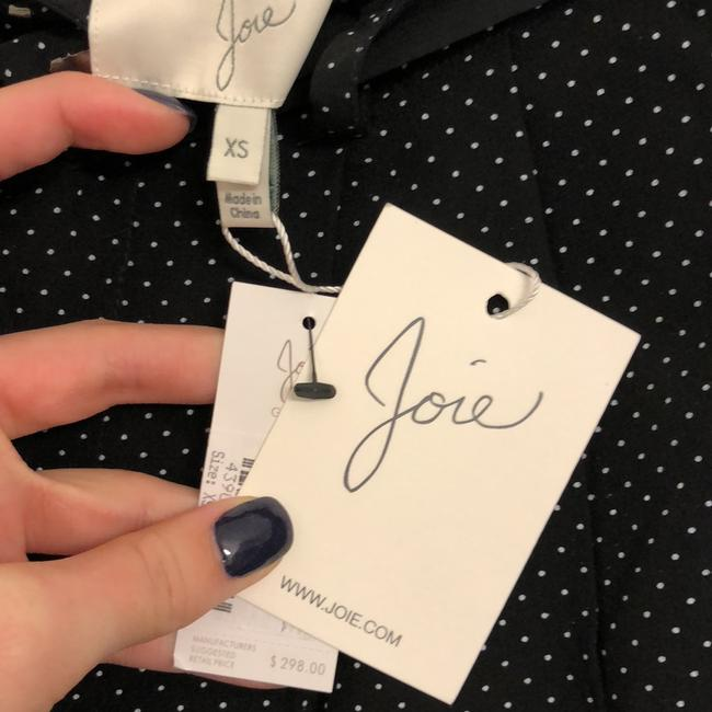 Joie Baggy Pants black with white polka dots