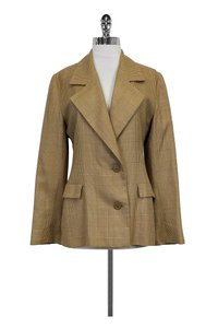 Givenchy Vintage Houndstooth Tan brown Blazer