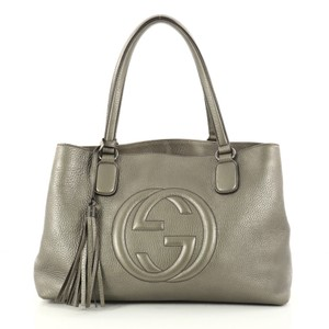 Gucci Soho Tote in grey