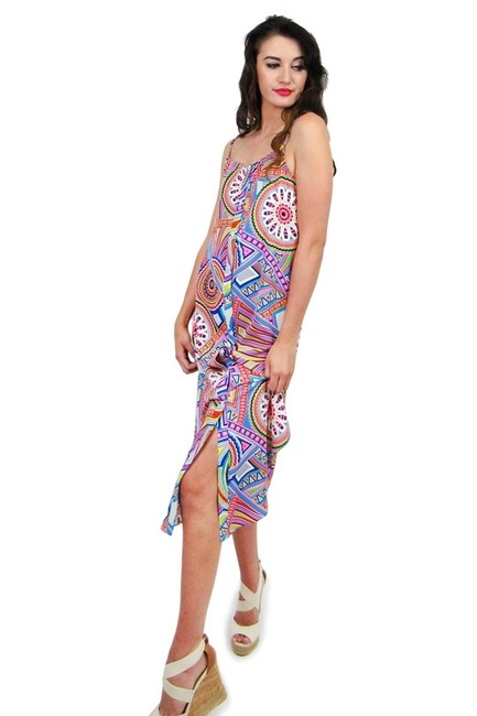 Sugarlips short dress Best Of All Festival Print on Tradesy