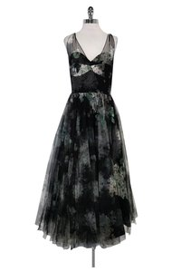 MILLY Green Gown Dress