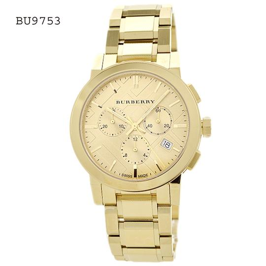 Preload https://img-static.tradesy.com/item/23174468/burberry-gold-tone-gold-women-s-swiss-chronograph-the-city-ion-plated-bu9753-watch-0-0-540-540.jpg