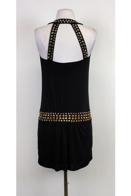 MILLY short dress Black W/ Studs on Tradesy