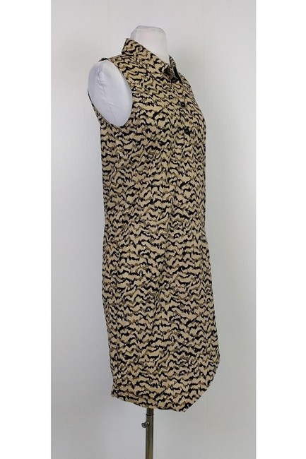 GERARD DAREL short dress brown Tan Printed on Tradesy