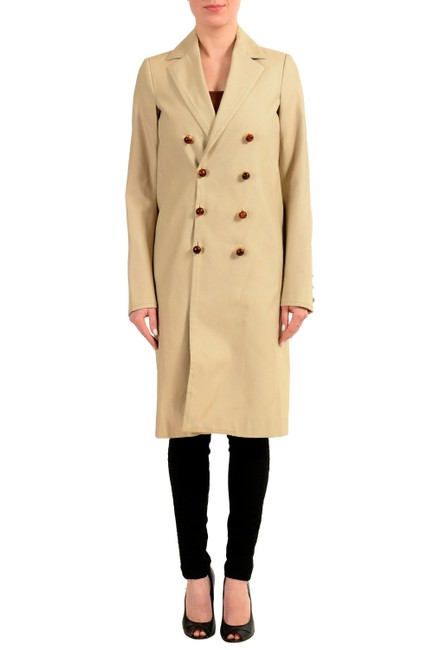 Preload https://item1.tradesy.com/images/dsquared2-brown-v-wh-10063-pea-coat-size-4-s-23174555-0-0.jpg?width=400&height=650
