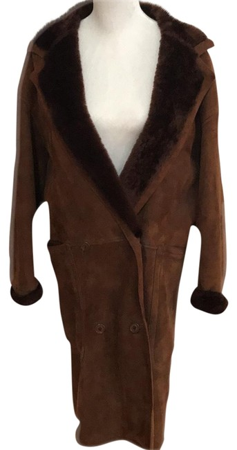 Preload https://item4.tradesy.com/images/calvin-klein-brown-full-length-shearling-label-but-fits-many-oversized-fur-coat-size-os-one-size-23174563-0-1.jpg?width=400&height=650