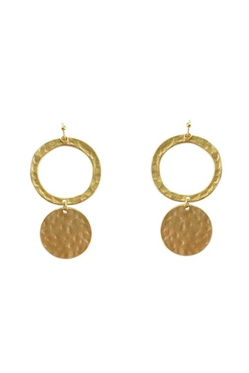 Preload https://item2.tradesy.com/images/gold-earrings-23174566-0-0.jpg?width=440&height=440