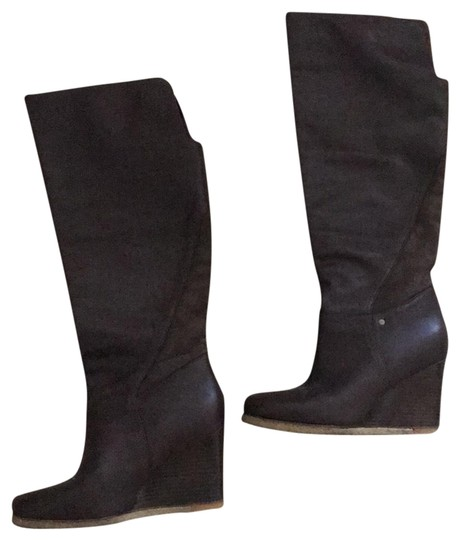 Preload https://img-static.tradesy.com/item/23174596/ugg-australia-brown-wedge-bootsbooties-size-eu-39-approx-us-9-regular-m-b-0-1-540-540.jpg