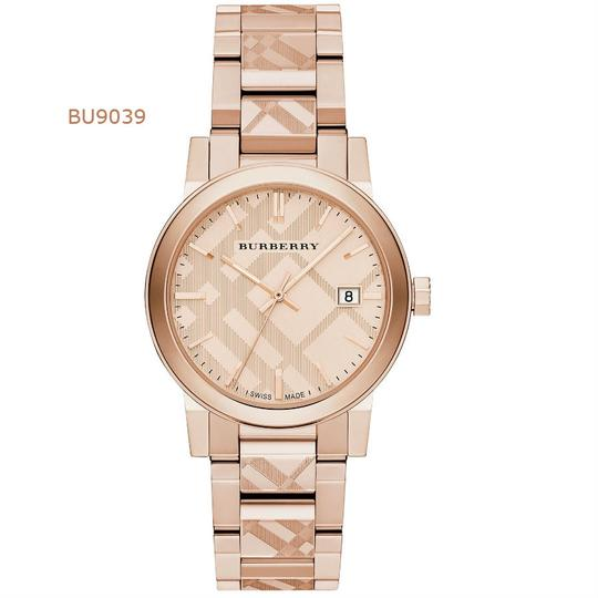 Preload https://img-static.tradesy.com/item/23174599/burberry-rose-gold-tone-dial-stainless-steel-ladies-new-bu9039-watch-0-0-540-540.jpg
