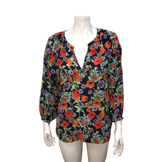 Preload https://img-static.tradesy.com/item/23174626/joie-multi-color-floral-tunic-size-12-l-0-0-650-650.jpg