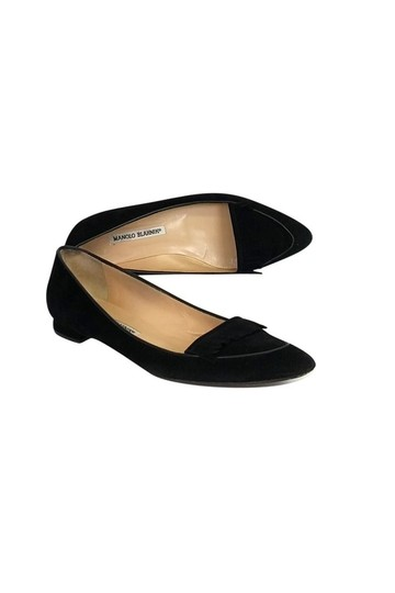 Preload https://img-static.tradesy.com/item/23174641/manolo-blahnik-black-flats-size-us-75-regular-m-b-0-0-540-540.jpg