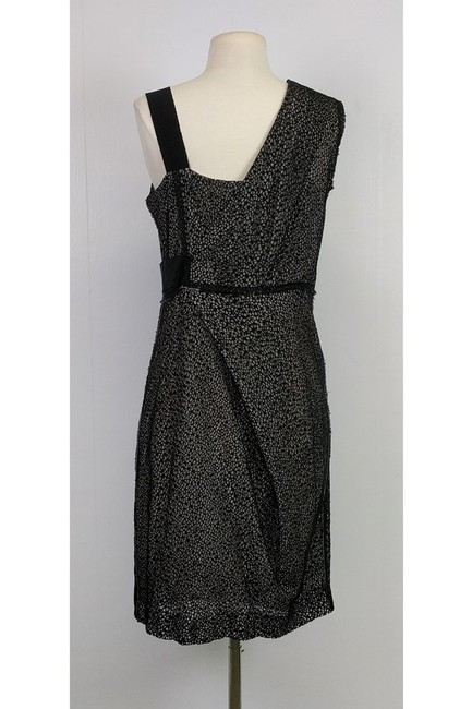 Ports 1961 short dress Black Grey Eyelet on Tradesy
