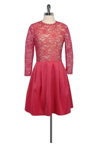 Erin Fetherston short dress Pink Rose Bud on Tradesy
