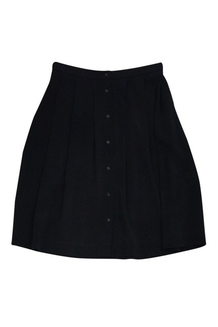 Preload https://img-static.tradesy.com/item/23174729/piazza-sempione-black-knee-length-skirt-size-8-m-0-0-650-650.jpg