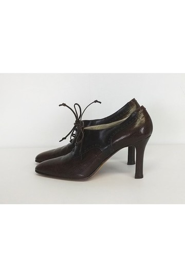Bally Laceup Oxfords brown Pumps