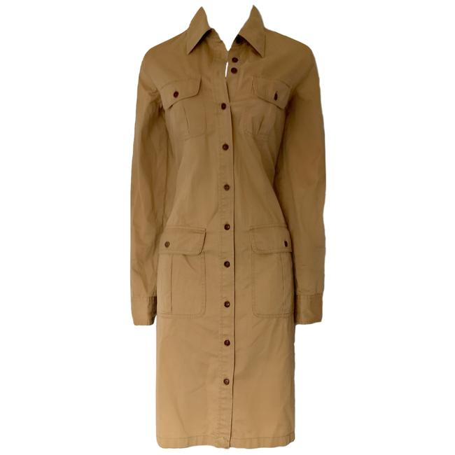 Preload https://item1.tradesy.com/images/lauren-jeans-company-brown-ralph-khaki-light-coat-duster-trench-mid-length-workoffice-dress-size-4-s-23174755-0-0.jpg?width=400&height=650